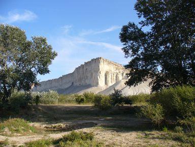 Гора Кок-Таш, Черемисовские водопады изакат наБелой скале