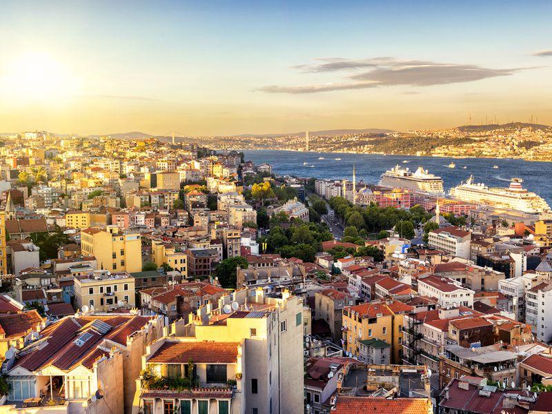 Экскурсия Визитные карточки Европейского Стамбула