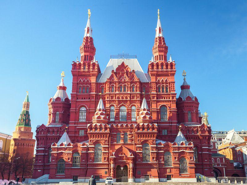 Экскурсия Исторический музей: вся биография России