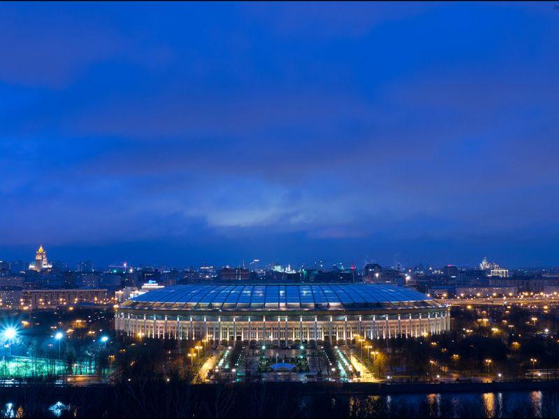 Фото Обзорная вечерняя экскурсия по Москве
