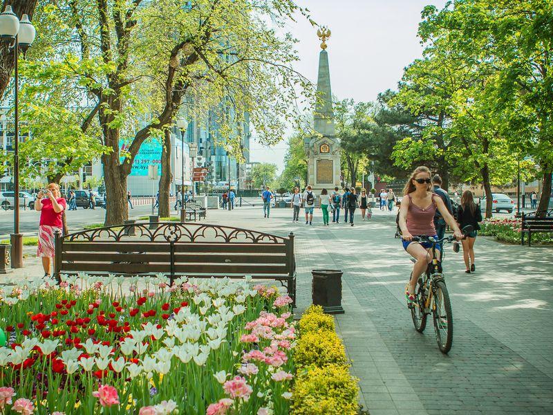Экскурсия Поцентральной улице Краснодара