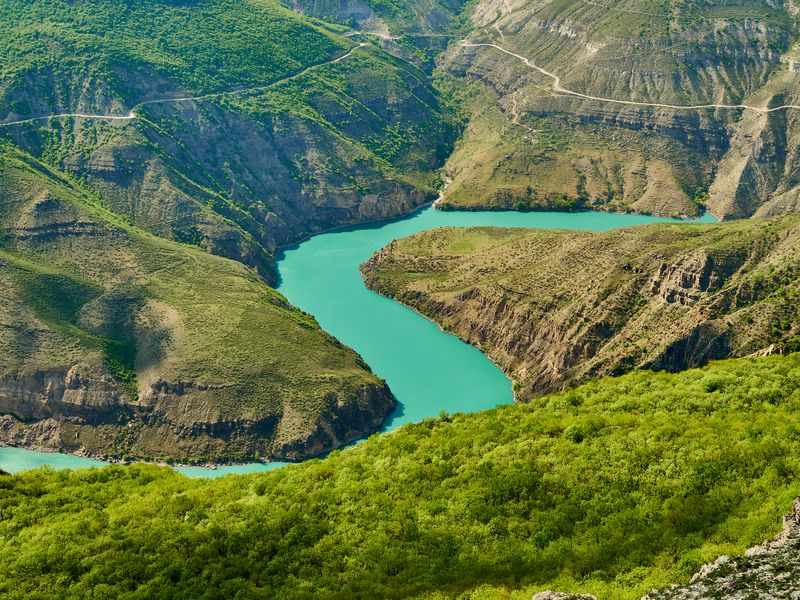 Экскурсия Сулакский каньон ибархан Сарыкум— сокровища Дагестана