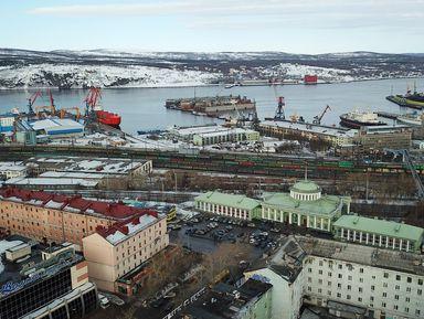 Мурманск— главный город Заполярья