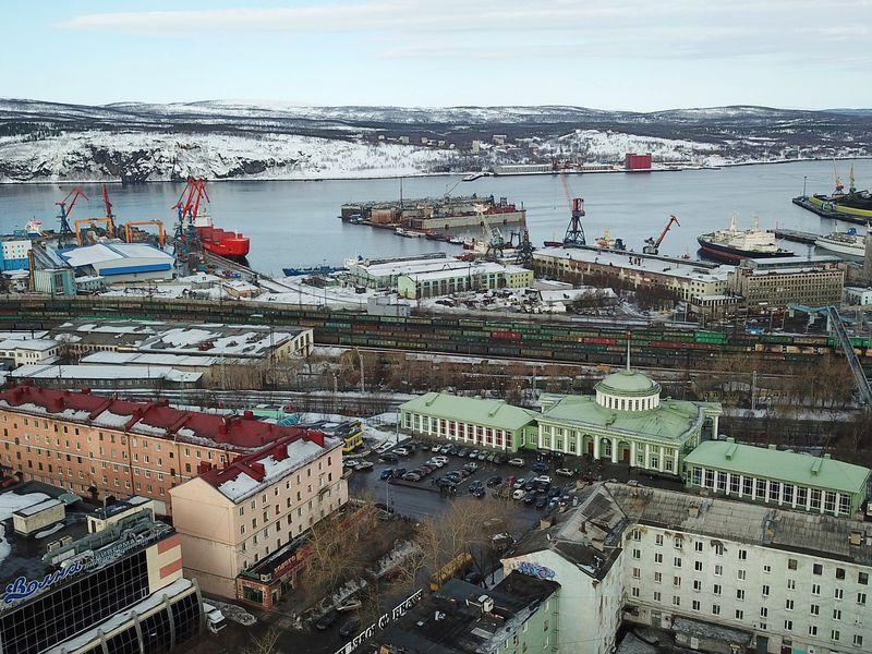 Фото: Мурманск— главный город Заполярья