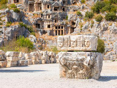 Античный город Мира и храм Святого Николая: путешествие из Белека