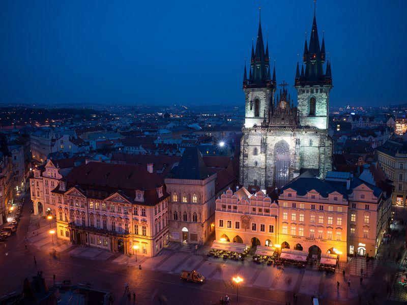 Экскурсия Мистерии вечерней Праги