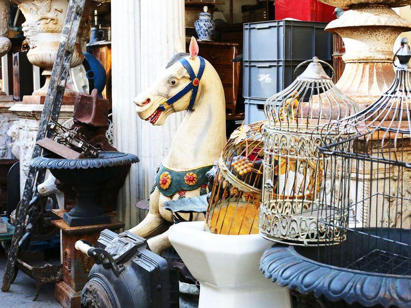 Экскурсия Блошиные рынки пригородов Парижа: охота за сокровищами