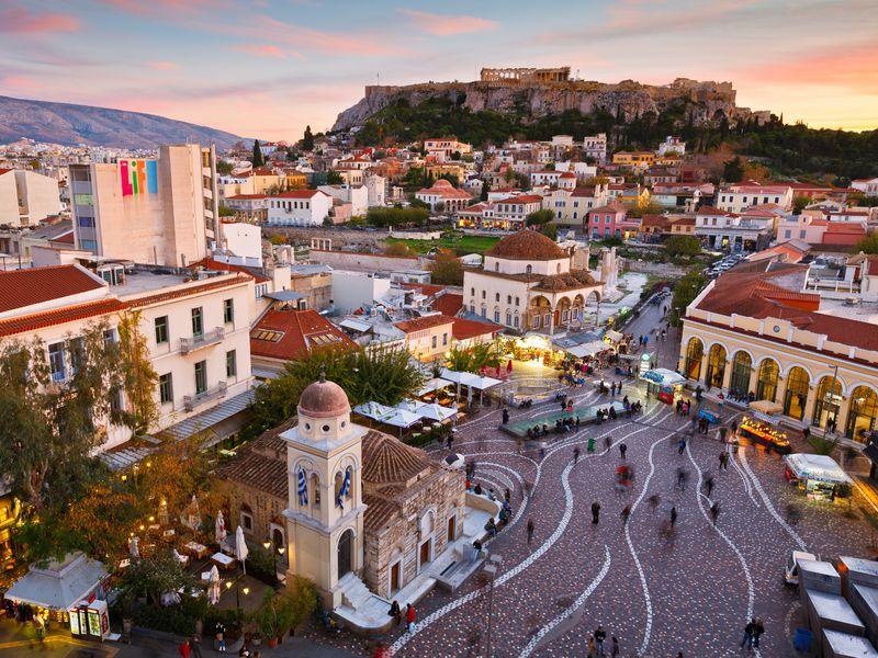 Экскурсия Афины: путешествие сквозь века