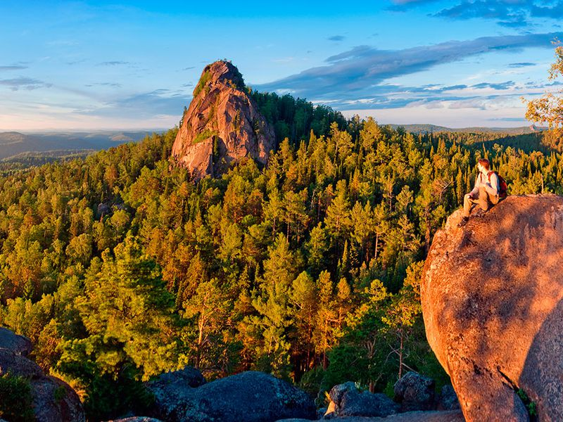 Экскурсия Заповедник «Столбы» — красивейшая природа окрестностей Красноярска