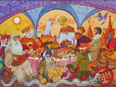 Русская сказка Коломенского