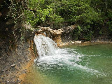Джиппинг кПшадским водопадам