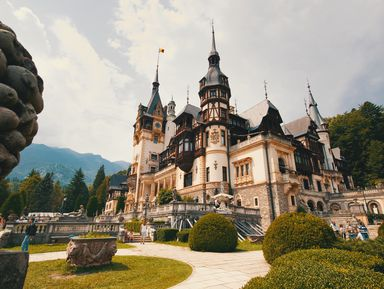 Замки илегенды Трансильвании