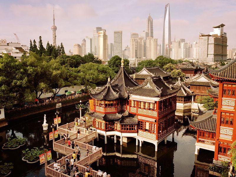 Экскурсия Добро пожаловать вШанхай!
