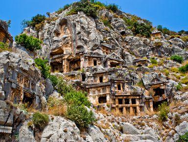Два в одном: античный город Мира и храм Святого Николая