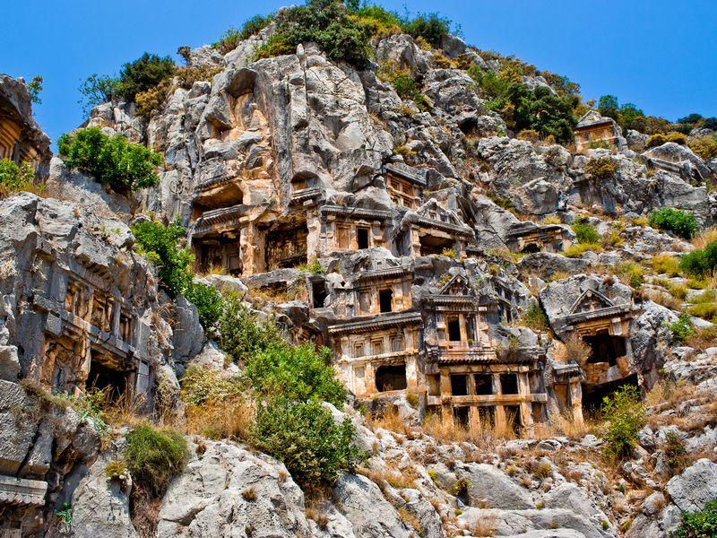 Экскурсия Два в одном: античный город Мира и храм Святого Николая
