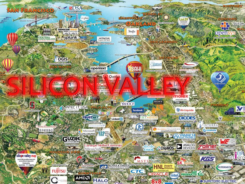 Экскурсия Кремниевая долина— зона высоких технологий
