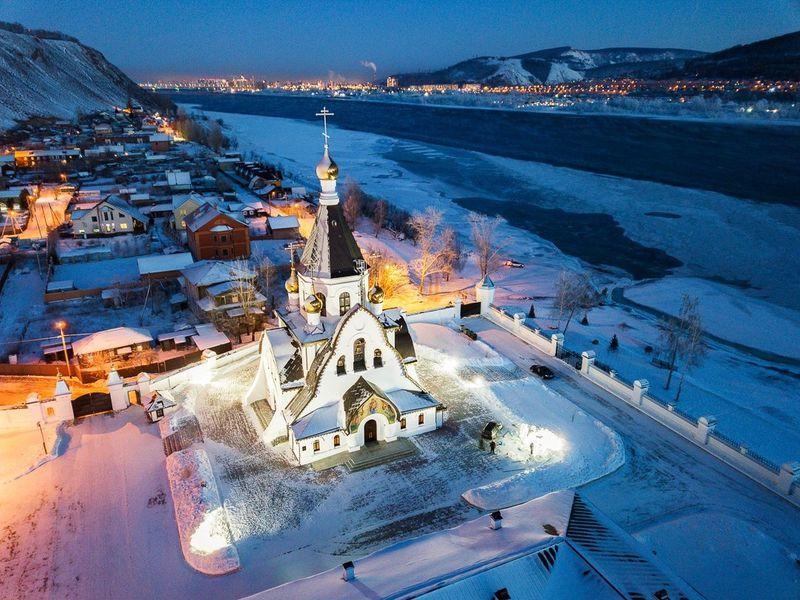 Экскурсия Главные святыни Красноярска