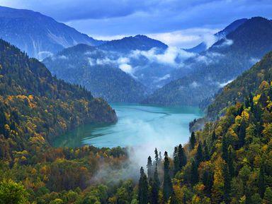 Озеро Рица иприбрежные красоты Абхазии
