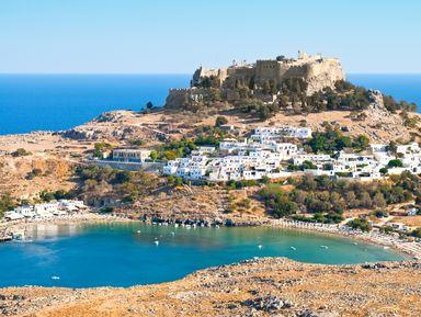 Мифы древнего Линдоса с посещением Акрополя