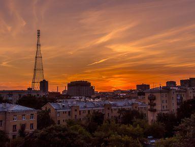 Шуховская башня— колыбель советского телевидения