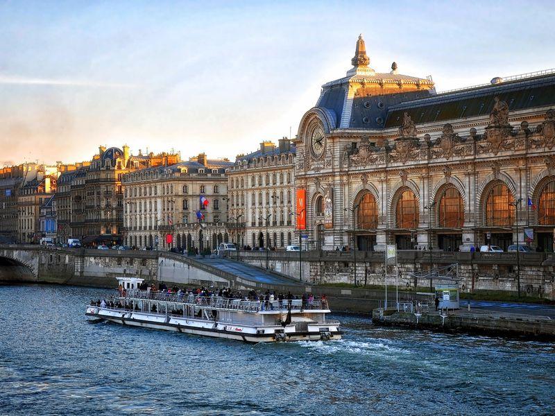 Париж— город наберегу Сены