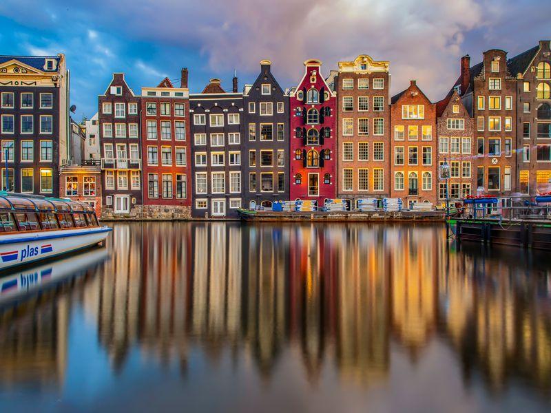 Экскурсия Онлайн-прогулка по небанальному Амстердаму в реальном времени
