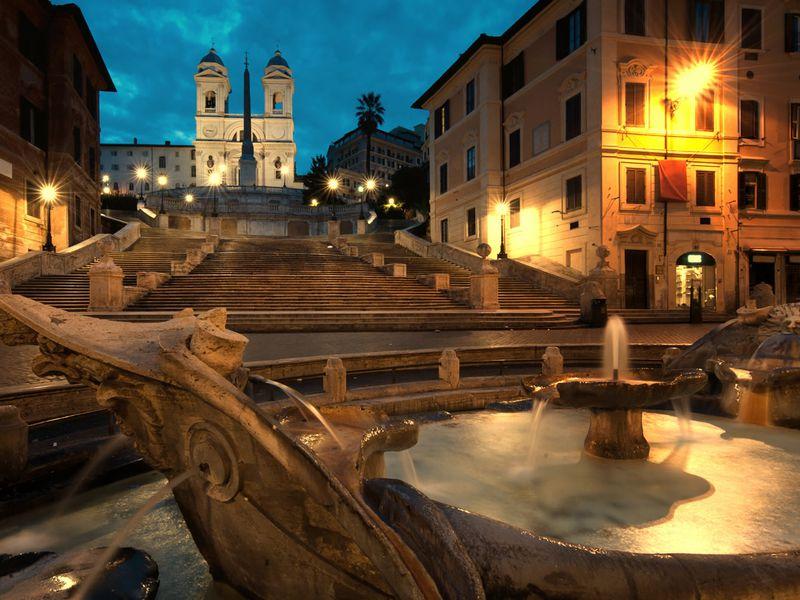 Экскурсия Вечерний Рим на автомобиле с панорамной крышей