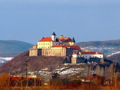 Средневековые замки Закарпатья