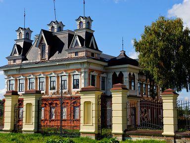 ИзЯрославля— вВятское, одну изкрасивейших деревень России