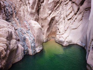 Чудеса каньона Вади-эль-Вешваш иотдых вДахабе