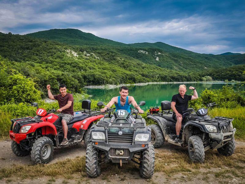 Экскурсия Экстрим-тур наквадроциклах