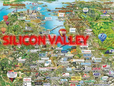 Кремниевая долина— зона высоких технологий