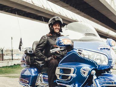 ПоПетербургу намотоцикле