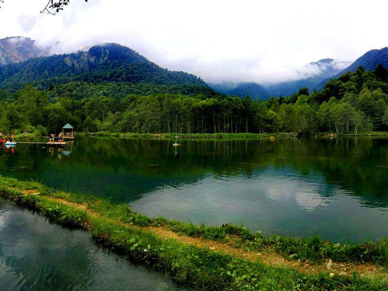 Экскурсия Край диких водопадов, пещера Прометея и гора Хвамли