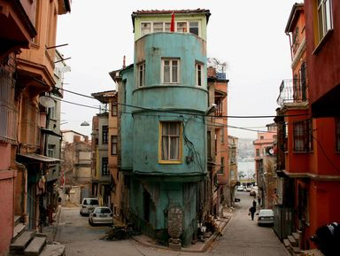 Живописная красота трущоб Стамбула