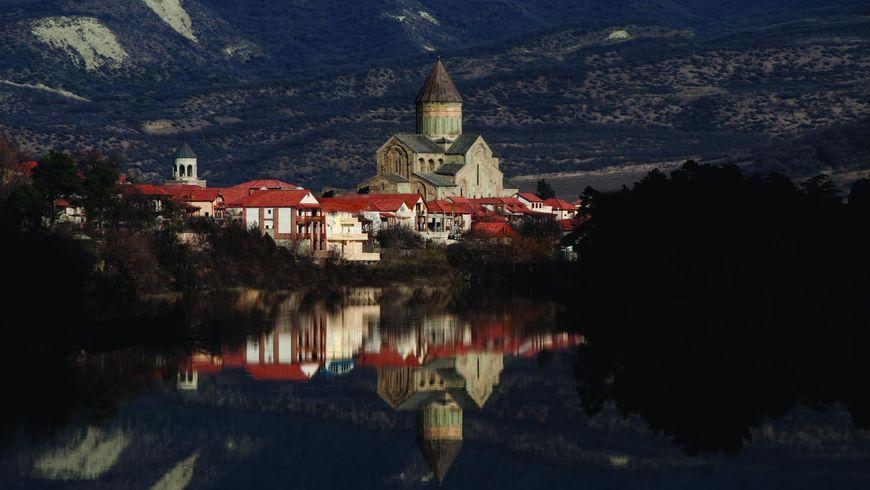 Святыни Мцхеты итбилисские дворики