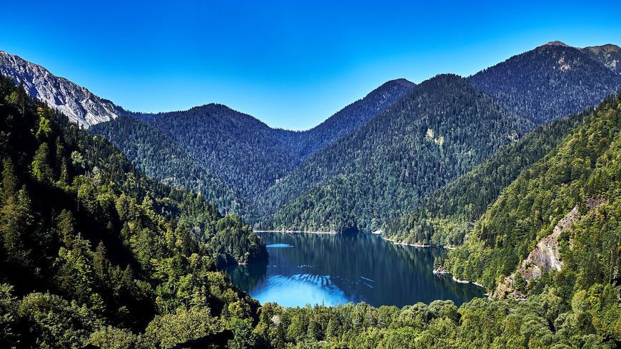 Джип-тур к озеру Рица и Гегскому водопаду!