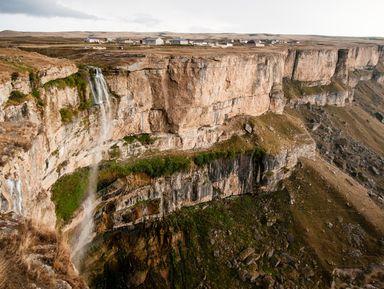 Водопад Тобот: исландские пейзажи Дагестана