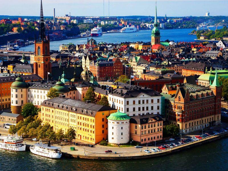Экскурсия Ежедневная прогулка по Стокгольму