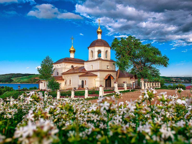 Экскурсия Храм всех религий, Верхний Услон иСвияжск