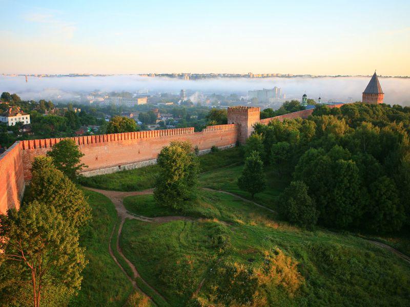 Экскурсия Вдоль Смоленской крепостной стены