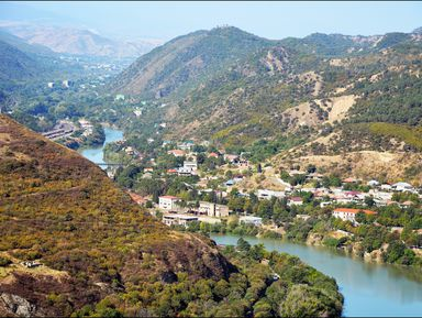 По святым местам Грузии: Мцхета и Шио-Мгвиме