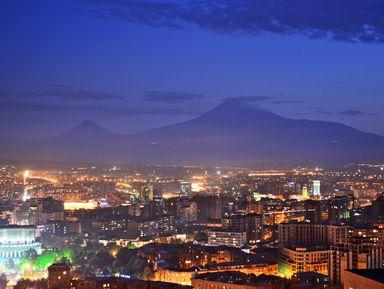 Вечерняя прогулка по Еревану