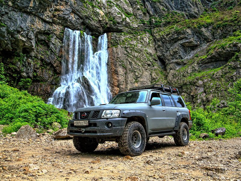 Экскурсия Джип-тур по заповедной высокогорной Абхазии из Сочи!