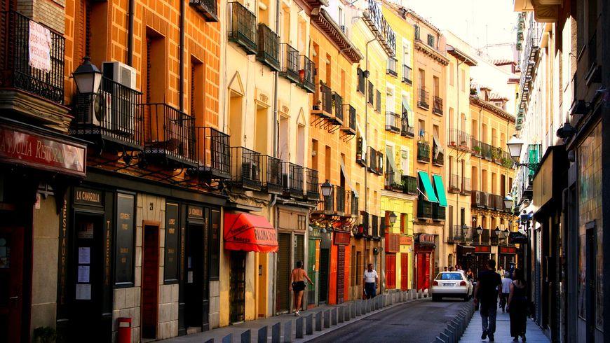 Мадридские извилины— переулками историй