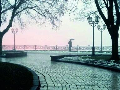 Чернигов дождливый