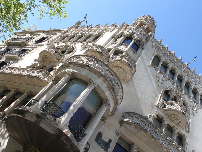 Экскурсия Территория каталонского модерна
