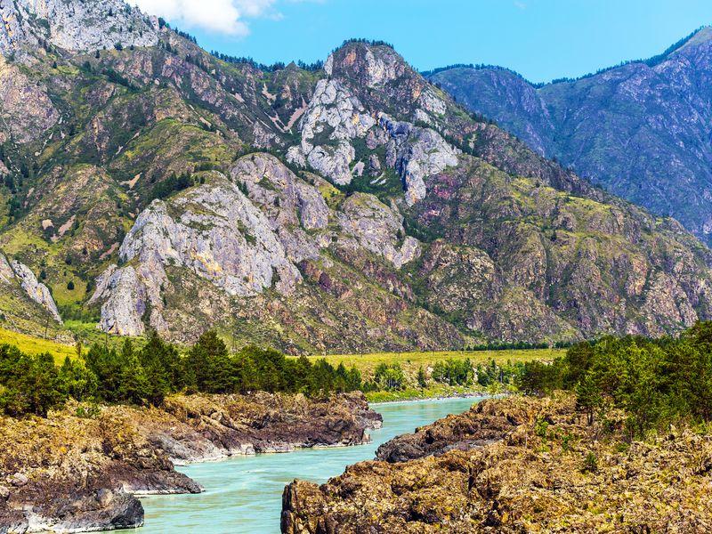 Экскурсия Дикий Алтай: Ороктойский мост, петроглифы и водопад Бельтертуюк