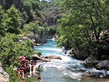 Рафтинг по горной реке