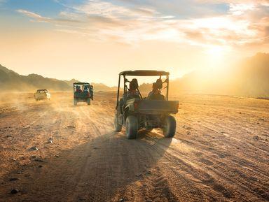 Сафари-тур наквадроцикле поАравийской пустыне